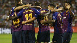 Barcelona saca sufrido triunfo 1-0 en Valladolid