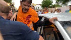 Un senador brasileño fue herido de bala durante una protesta de policías