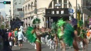El corazón de Tokio late a ritmo de samba y carnaval