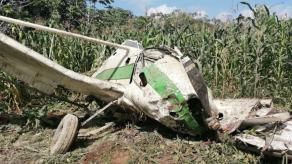 Avioneta se accidenta en finca de Chiriquí