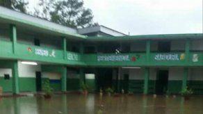 Suspenden clases en el IPT de Colón por inundaciones