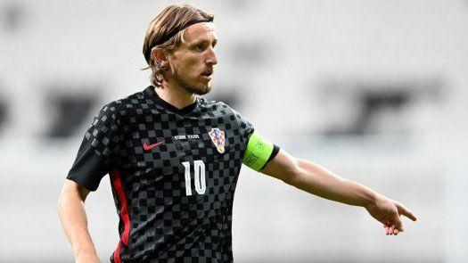Eurocopa: Luka Modric lidera la lista de Croacia