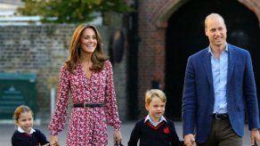 El príncipe Guillermo respira aliviado tras el regreso a clases en Gran Bretaña