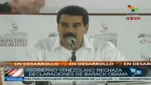 Presidente Maduro tilda a Obama de jefe mayor de los diablos