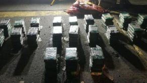 Decomisan 107 paquetes de droga y detienen a 3 colombianos en Arraiján