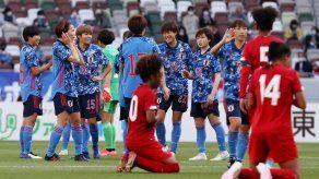 El partido ante Japón fue el primero de la selección femenina de Panamá contra un rival fuera del continente americano
