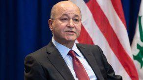 Presidente iraquí propone elecciones anticipadas