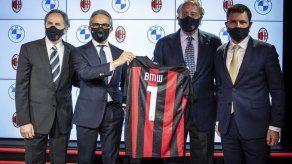 El Milan firma acuerdo de patrocinio con BMW