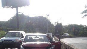 Conductor colisiona en Vía Centenario
