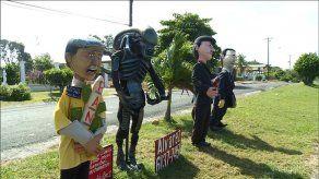 Panamá Oeste ya tiene sus tradicionales muñecos de Año Viejo
