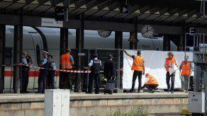 Muere niño tras ser arrojado a una vía y atropellado por un tren en Alemania