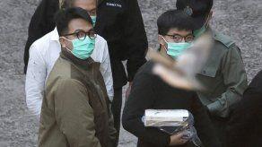 Hong Kong: penas de cárcel para activistas Wong