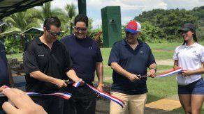 Inauguran pista olímpica de tiro en Panamá
