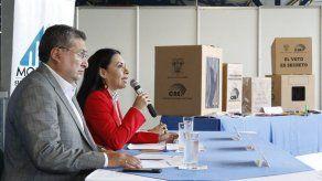 Consejo Electoral de Ecuador inicia envío de material para comicios 24 marzo
