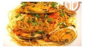 Spaghetti con Mejillones