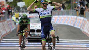 Weening gana la novena etapa del Giro