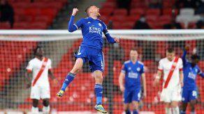 Leicester City vence 1-0 a Southampton y jugará la final de Copa ante Chelsea
