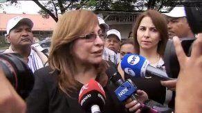 Herrera denuncia no ha sido notificada de condena a 3 años de prisión