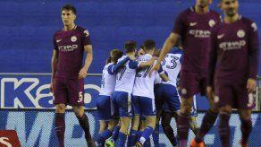 Man City naufraga en la Copa FA ante Wigan