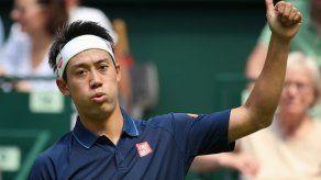 Nishikori avanza sin problemas en Wimbledon