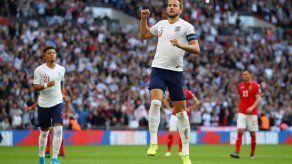 Inglaterra aplasta 4-0 a Bulgaria con triplete de Kane