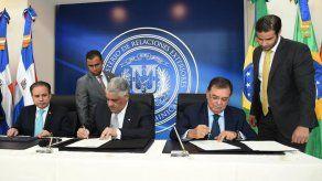 República Dominicana y Brasil acuerdan mejorar comercio e inversión bilateral