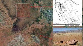 Científicos hallan un patrón homogéneo en los círculos de hadas en Namibia