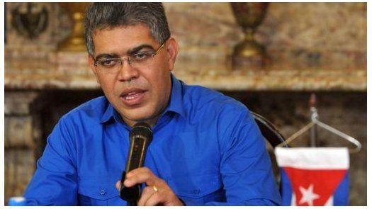Jaua asegura que en Venezuela no hay crisis política