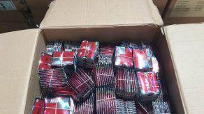 Aduanas retiene cargamentos de potenciadores sexuales y cigarrillos