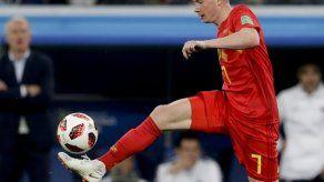 Man City: De Bruyne fuera 3 meses por lesión de rodilla