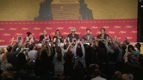 Jim Jarmusch e Iggy Pop hicieron soplar vientos de rock en Cannes