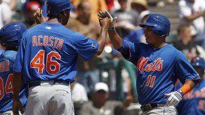 Panameño Tejada remolca tres con jonrón y Mets ganan