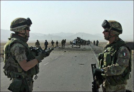 Soldados heridos por atentado en Afganistán