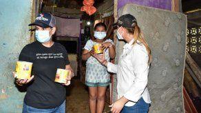 Entregan ayuda humanitaria a familias afectadas por la crecida del Río Chilibre