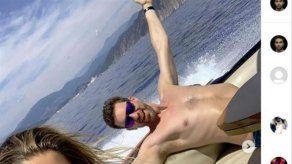 Pau Gasol y Cat McDonnell navegan por la costa italiana en su luna de miel