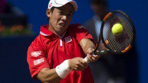 Nishikori resiste el servicio de Groth y accede a segunda ronda en Wimbledon