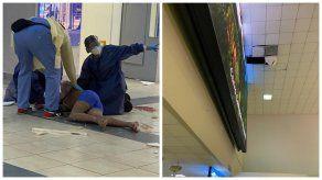 El hombre intentó evadir los controles del Aeropuerto de Tocumen escondiéndose en el cielo raso.