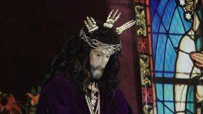 Devotos de Jesús Nazareno de Atalaya le rinden honor en novena