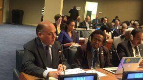 Aguilera asegura en la ONU que se fortalecen estrategias contra el blanqueo y el terrorismo