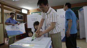 Elecciones en Corea del Sur sin ganador claro