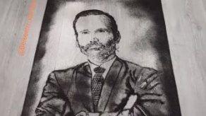 Reconocido barbero panameño le rinde tributo a Horacio Valdés