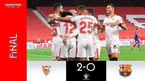 Copa del Rey: Sevilla vence 2-0 al Barcelona