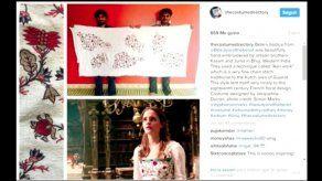 Los artesanos indios lo bordan en Beauty and the Beast
