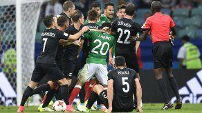 FIFA no intervendrá luego de trifulca México-Nueva Zelanda