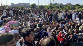 Protesta en Pakistán por caricaturas del profeta Mahoma