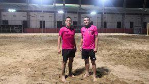 Jorge Tuñón Morán y Gumercindo Batista, cuentan con gran experiencia en la modalidad de fútbol playa en Concacaf.