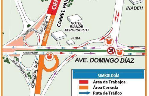Cierre de la Vía Panamericana en el Hotel Riande Aeropuerto del 10 al 16 de enero