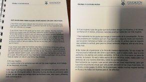 Embajada rusa en Argentina advierte a AFA por error con manual de seducción