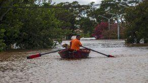Aumenta a 1.170 las personas desplazadas en Uruguay por las inundaciones