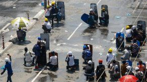 Represión policial contra disidencia civil